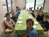 Naravoslovni tabor Peca - V jedilnici pred kosilom